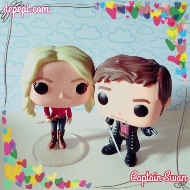 captain swan, emma swan, captain hook, killion jones, funko, funko pop, funko friday, funko love, depepi, depepi.com