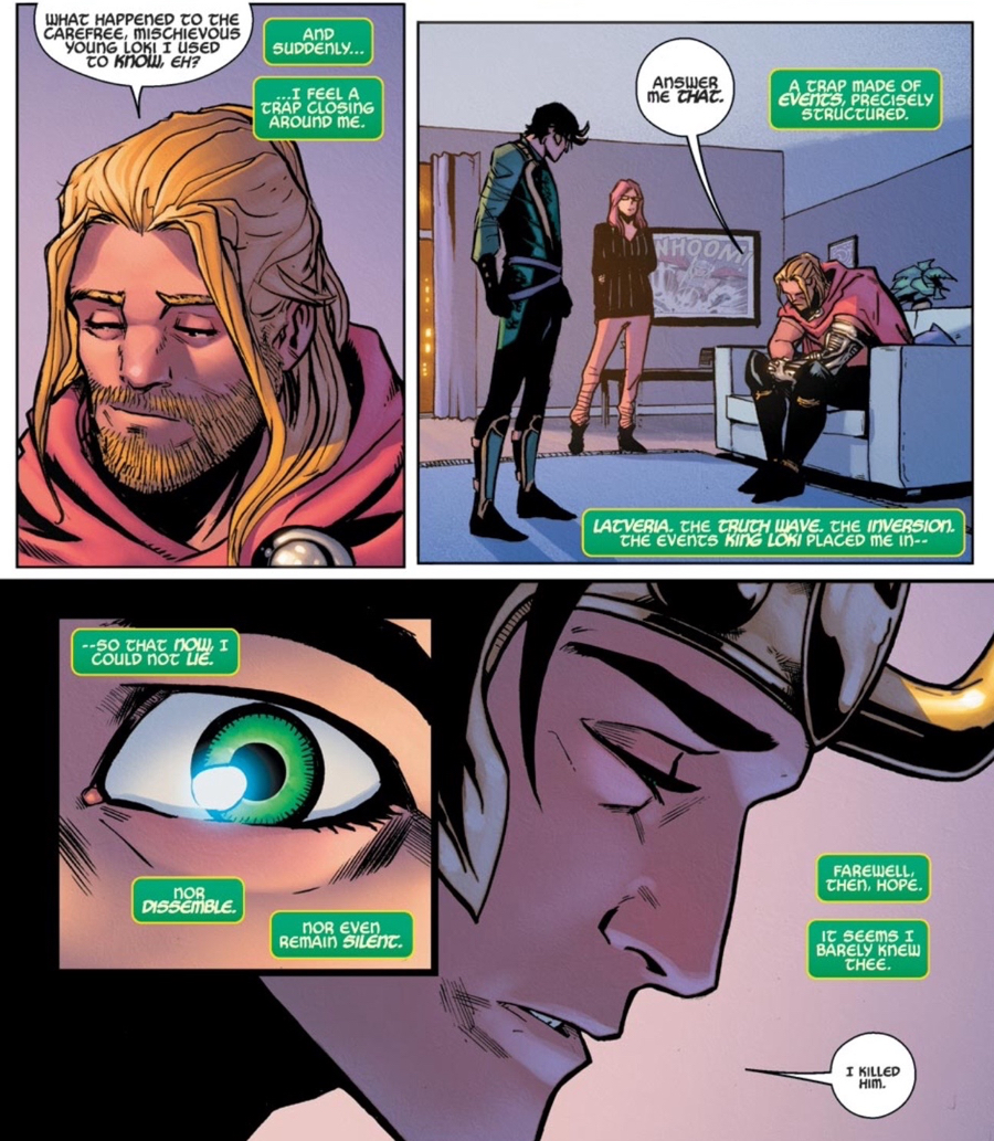 Marvel loki goes speed dating