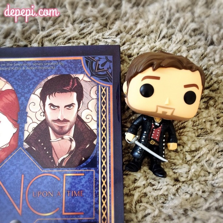 ouat, once upon a time, captain hook, killian jones, marvel, marvel comics, depepi, depepi.com