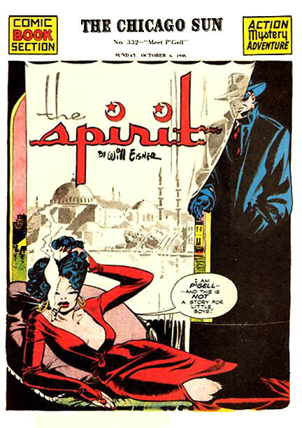 the spirit, will eisner, comics, history of comics, comics history, depepi, depepi.com