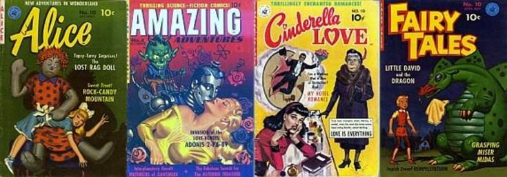 old comics, vintage comics, comics from the past, depepi, depepi.com