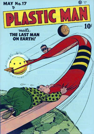 plastic man, dc, depepi, depepi.com, history of comics, comics