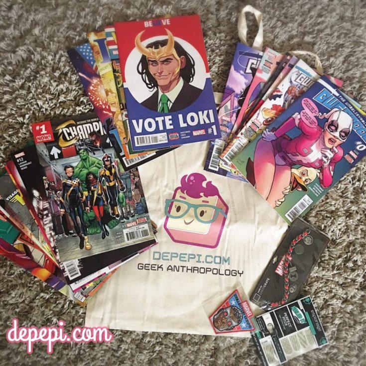 marvel, marvel comics, giveaway, xmas, xmas giveaway, nerdy, nerdy giveaway, depepi, depepi.com