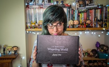j.k. rowling, wizarding world, loot crate, lootcrate, depepi, depepi.com, unboxing