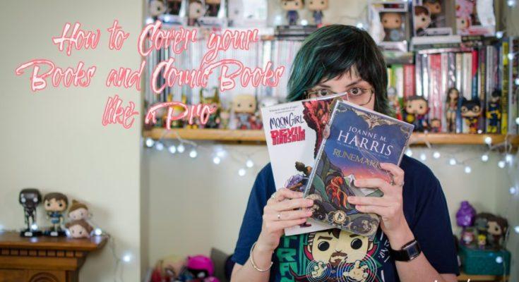 how to, comics, comic books, books, bookish, add covers, keep safe, depepi, depepi.com, geek life