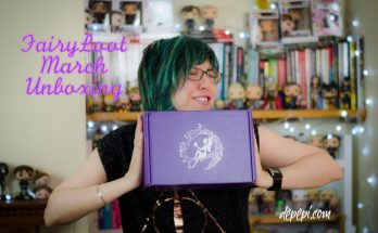 fairyloot, unboxing, fairyloot unboxing, fairyloot march, depepi, depepi.com, books, bookworm