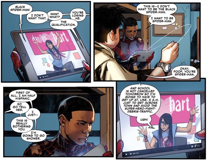 spider-man, miles morales, marvel, marvel comics, depepi, depepi.com