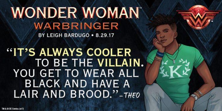 leigh bardugo, wonder woman, warbringer, wonder woman warbringer, dc, dc comics, depepi, depepi.com