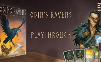 Odin's Ravens, Loki, mythical race game for two players, thorsten gimmler, depepi, depepi.com, reviews