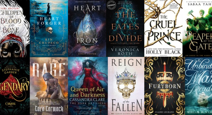 20 Ya And Fantasy Books To Read During 2018 Depepi