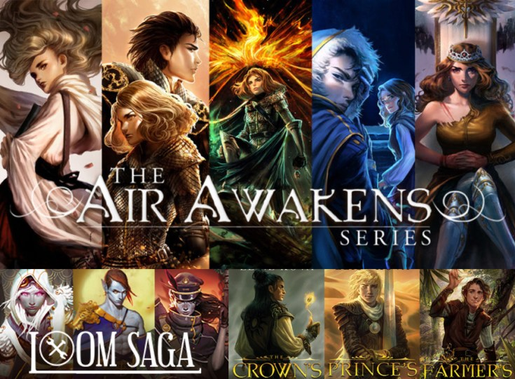 golden guard trilogy, air awakens, loom saga, elise kova, circle of ashes, society of wishes, cover reveal, depepi, depepi.com