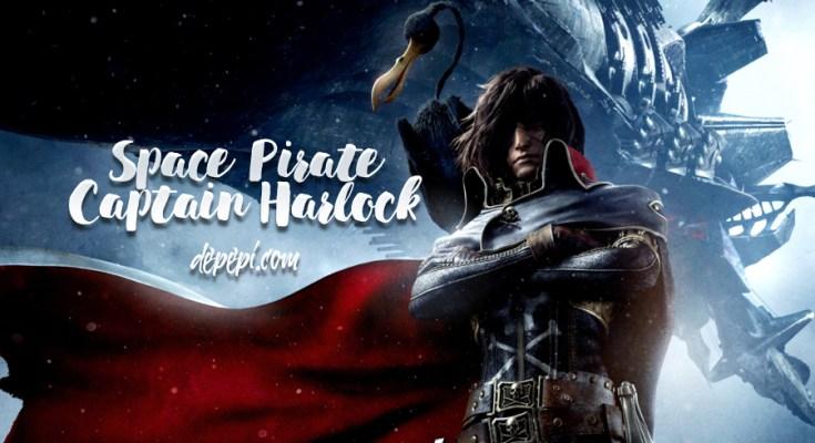 harlock, captain harlock, harlock space pirate, captain harlock space pirate, anime, manga, depepi, depepi.com