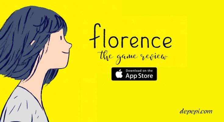 florence, game, ios, ios game, florence game, review, app store, depepi, depepi.com, app