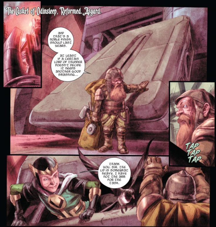 thorsday, comics thorsday, loki, loki's army, journey into mystery, marvel, marvel comics, depepi, depepi.com