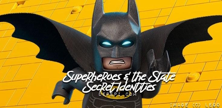 superheroes, secret identity, secret identities, dc, marvel, dc comics, marvel comics, depepi, depepi.com, geek anthropology, anthropology