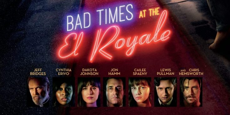 bad times at the el Royale, chris Hemsworth, Thor, depepi, depepi.com, review