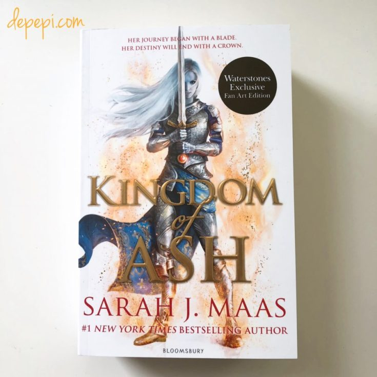 kingdom of ash, throne of glass, Sarah j. Maas, depepi, depepi.com, Waterstones, Waterstones exclusive