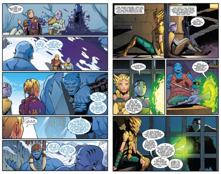 what if?, what if Thor, Thor, what if Thor was raised by Frost Giants, marvel, comics, thorsday, depepi, depepi.com