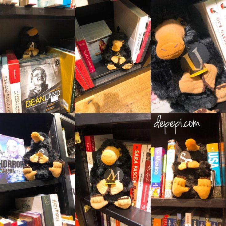 Fantastic Beasts: The Crimes of Grindelwald, Fantastic Beasts, JK Rowling, Waterstones, Brighton, depepi, depepi.com