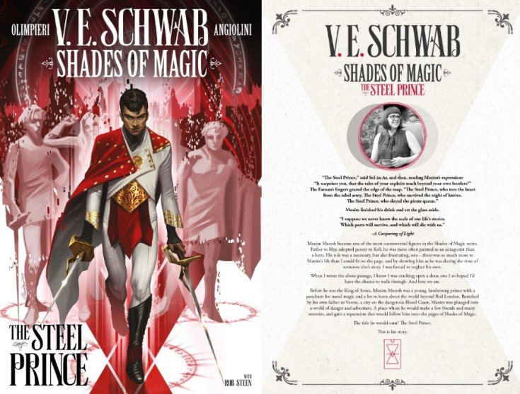 the steel prince, V.E. Schwab, shades of magic, depepi, depepi.com, review