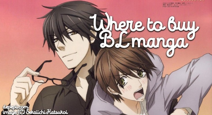 where to buy BL manga, sekaiichi hatsukoi, Sekai ichi hatsukoi, where to buy Yaoi manga, BL manga, yaoi, dePepi, depepi.com