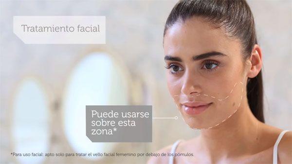 Ipl facial zonas
