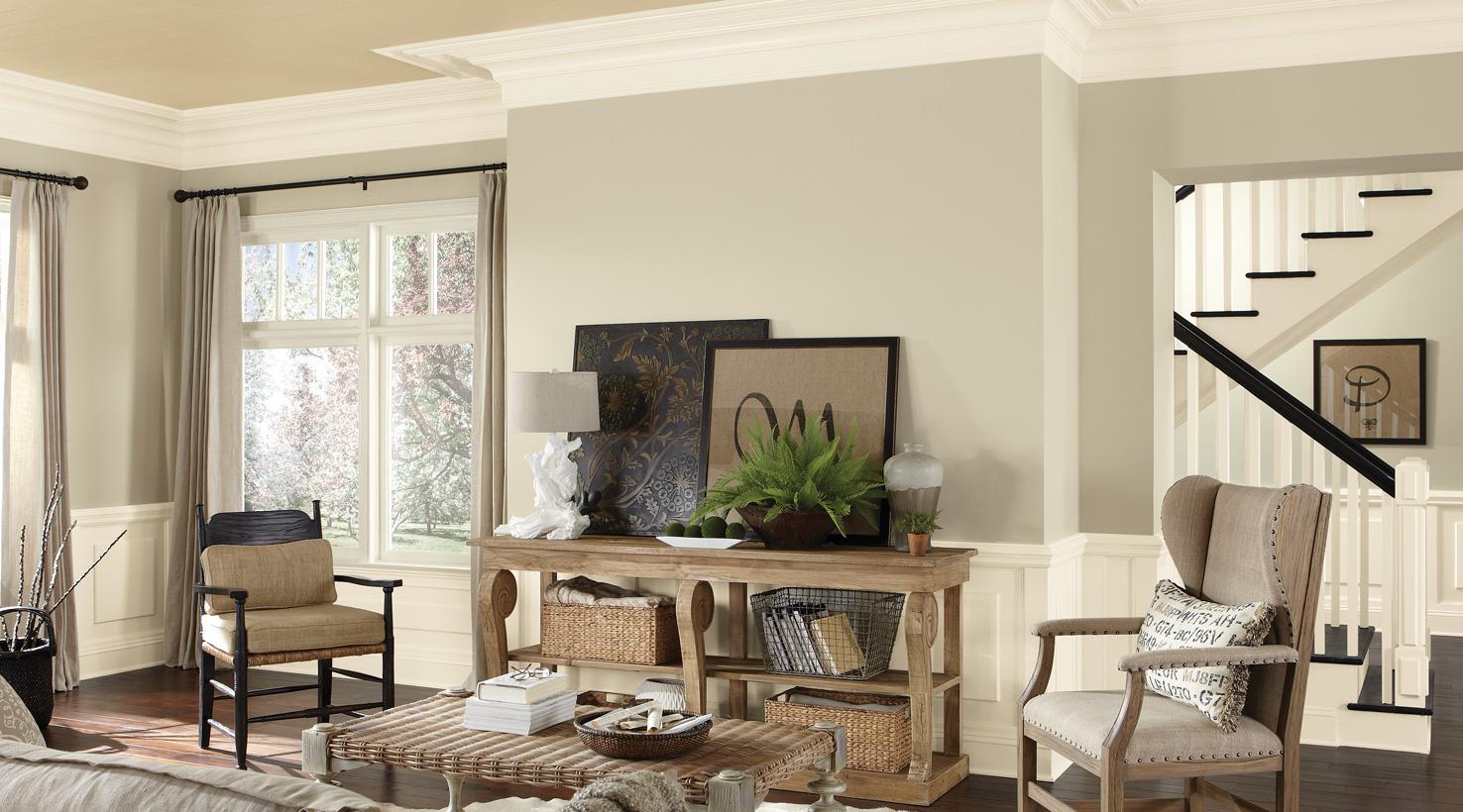 Living Room Painting Colors Ideas - Deplok Painting