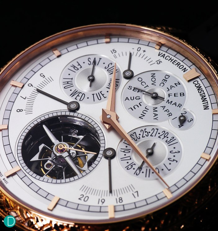 """The immaculate and intricate Vacheron Constantin Traditionnelle """"L'empreinte Du Dragon""""."""