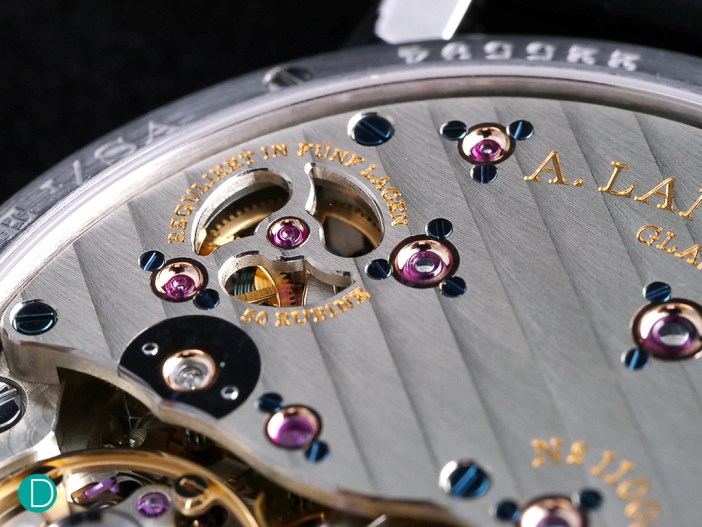 Magnificent finishing is a feature of Lange, and the L094 is no exception.