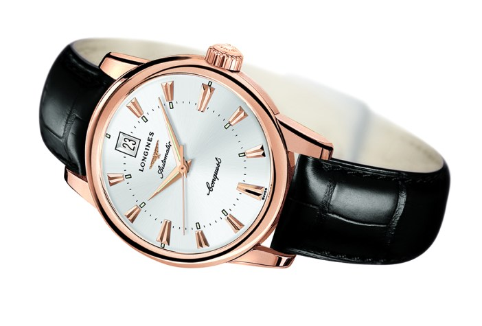 Longines Heritage Conquest worn by M in the Bond movie Spectre.