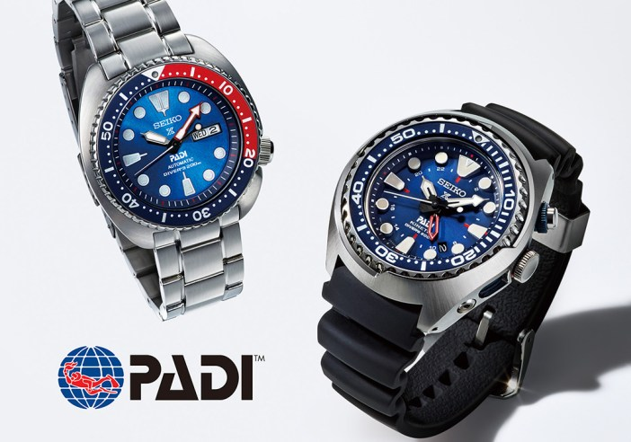 The new Seiko X PADI Diver's Watch.