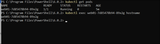 Basic Kubernetes Commands on Docker for Windows - Deploy Containers