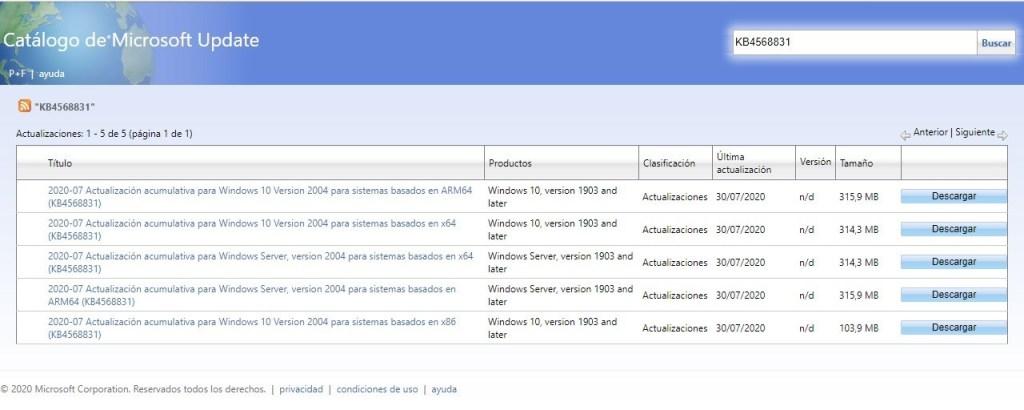 Habilitar el nuevo diseño del menú de inicio en Windows 10 versión 2004