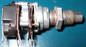 Broken potentiometer