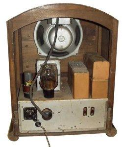 Radio Telefunken 540 chassis