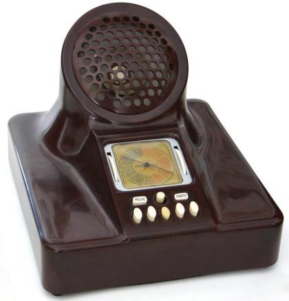 Radio Phonola 563 Castiglioni - mobiletto in bachelite