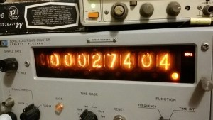 Frequency accuracy - HP 5246L