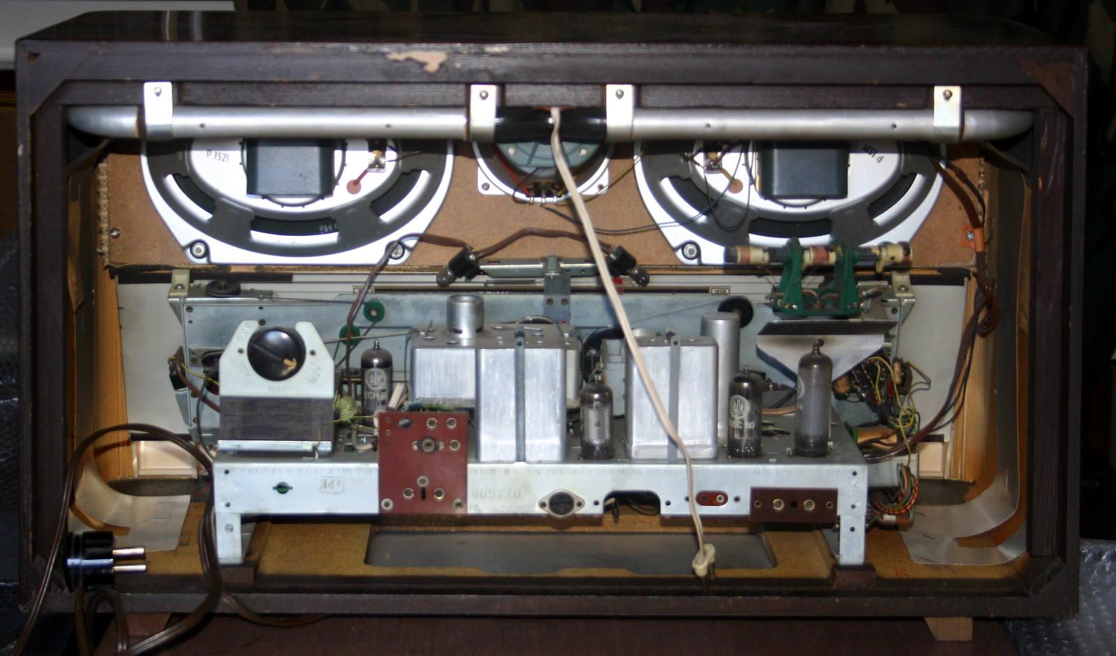 Graetz Melodia 619 chassis