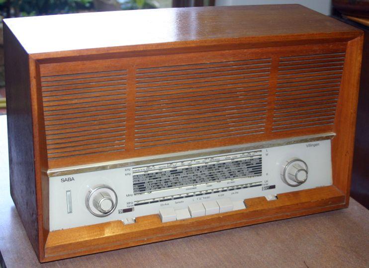 Saba Villingen 16 - radio