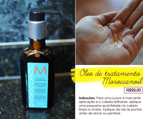 Tratamento Óleo de Argan Moroccan Oil