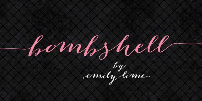 fontes-bombshell-pro