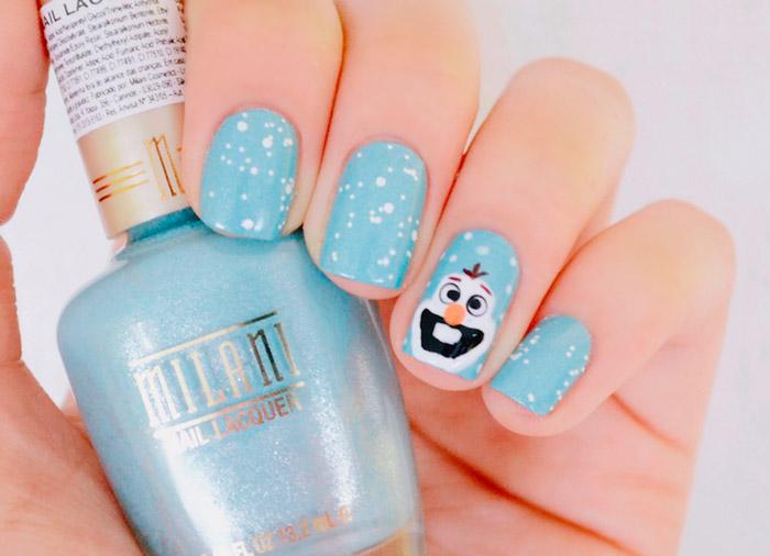 frozen-nail-art