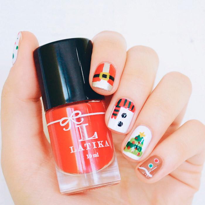 nail-art-xmas