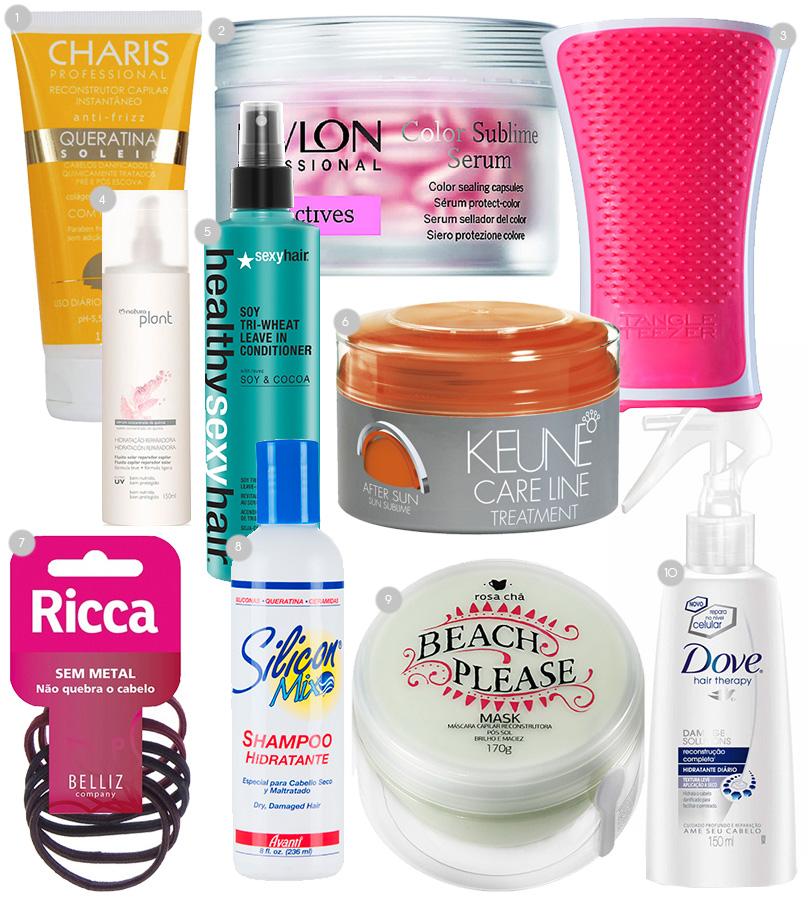 produtos-cabelo-cuidados-verao