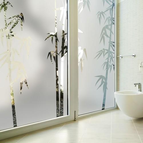 sticker vitres tige de bambou bambou 25f