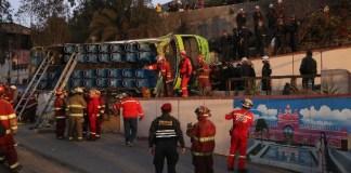 Accidente Cerro San Cristobal