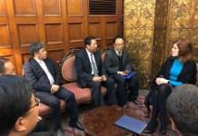 CTG se reúne con la Vicepresidente Mercedes Aráoz