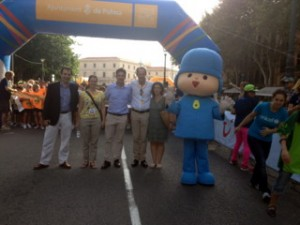 Fernando Gilet i organitzadors TUI Unicef