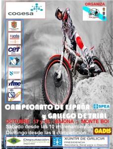 Cartel RFME CET Baiona 2015