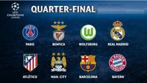 Cuartos final Champions League